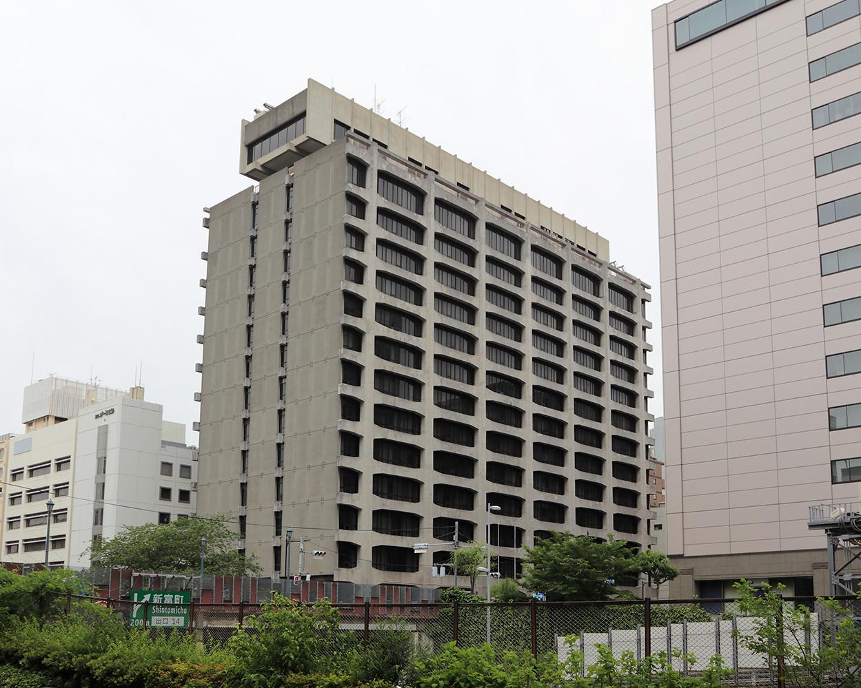 電通築地ビル(旧・電通本社ビル)