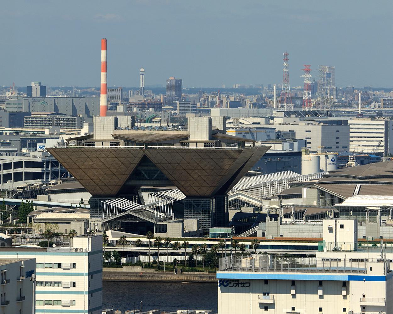 東京国際展示場 管理会議棟